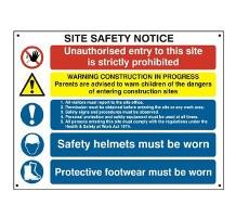 Site Safety Notice
