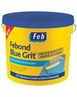 Febond Blue Grit Plaster Bonding Agent - 10L