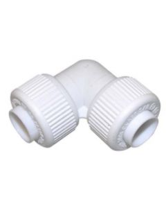 15mm Pushfit Elbow White