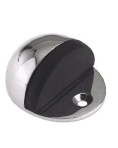 Satin Chrome Floor Doorstop