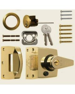 ERA Double Locking Narrow Night Latch
