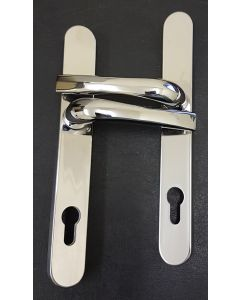 Satin Chrome 92pc Concealed Fix Handle for 5 Point Locking System