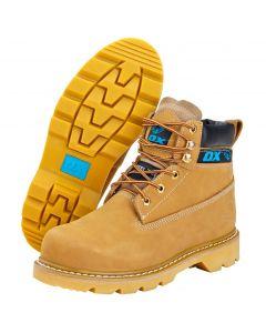 Nubuc Honey Boots Size 8