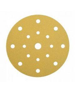 125mm 17H 120 grit Sanding Disc Gold