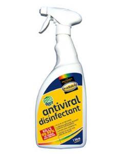 Prosolve Antiviral Disinfectant 1ltr Trigger