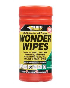 Everbuild Multi Use Wonderwipes - 100pk