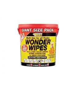 Everbuild Giant Wonderwipes - 300pk