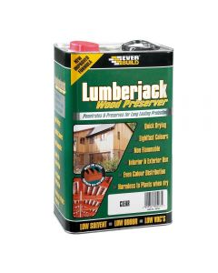 Everbuild 25 Litre Clear Wood Preservative