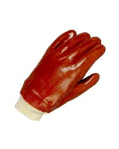 Pvc Glove Knitted Wrist