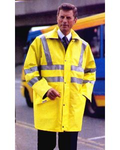 Reflective Safety Coat Medium