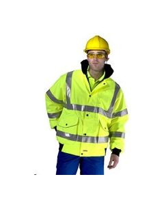 Hi Vis Bomber Jacket Medium