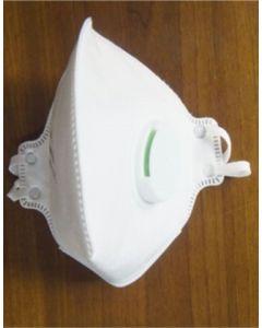 FFP2 Folded Valve Dust Mask