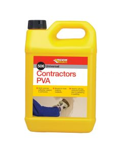Everbuild Contractors PVA - 5L