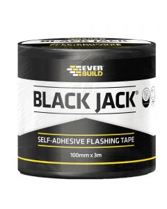 Everbuild Black Jack 150mmx10m Self Adhesive Flashing