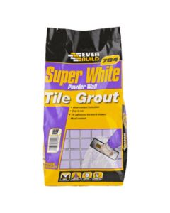 Everbuild 3 Kilo 704 White Powder Grout
