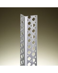30pk Locusrite 2.5m 13-19mm White PVC Angle Bead