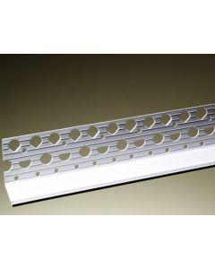 Locusrite White PVC 10-15 Bell Cast Beading