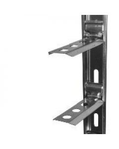 Locusrite Wall Starter Kit Plate Premium Stainless Steel
