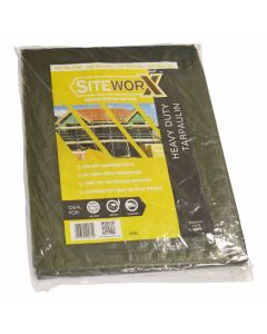 Green Extra Strong Tarpaulin
