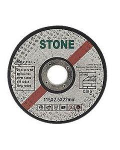 Flat Stone Wheel 4 1/2x1/8x7/8