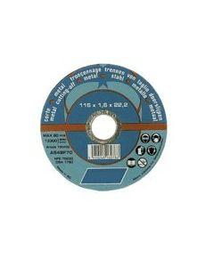 Flat Metal Wheel 4 1/2x1/8x7/