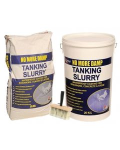Wykamol 20kg Tanking Slurry and brush