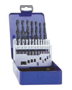19 Piece HSS Drill Set In Case