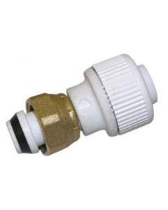 15mm Pushfit St.Tap Connec. White (kdstc15)