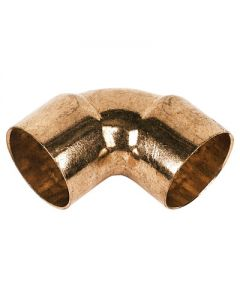 15mm 90 Degree Elbow Endfeed Copper Fitting