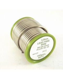 Solder Wire Lead Free 1/2 Kilo Reel