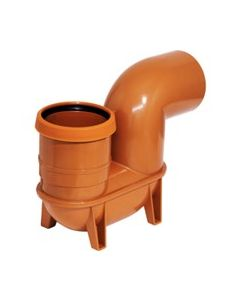 Drainage 110mm Low Back P trap