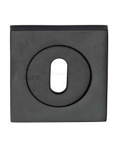 Axis Square Key Escutcheon Black