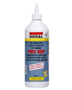 Soudal Pro Wood Adhesive 750g 40p