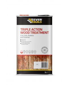 Everbuild 5 litre Triple Action Wood Treatment