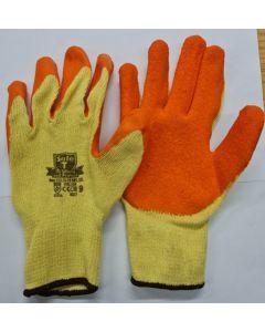 Safe T Orange Gloves Extra Large Pack 10