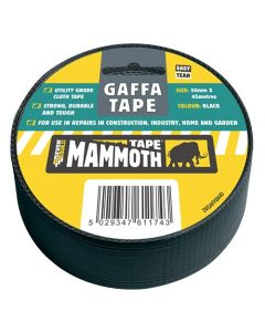 Everbuild Gaffa Mammoth Tape Silver 50mm
