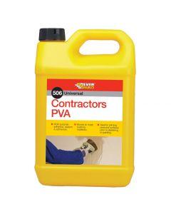 Everbuild Contractors PVA - 5L