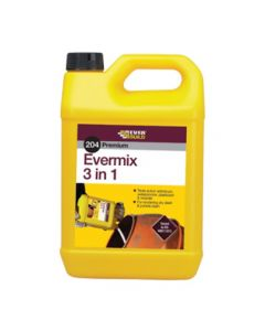 Everbuild 5 Litre 204 Evermix 3 in 1 Waterproofer