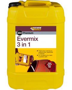 Everbuild 25 litre 204 Evermix 3 in 1 Waterproofer