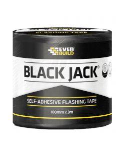 Everbuild Black Jack 100mmx10m Self Adhesive Flashing