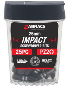 25mm Impact Bit PZ2 (25 pack)