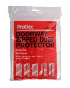 Prodec Doorway Zipped Dust Protector
