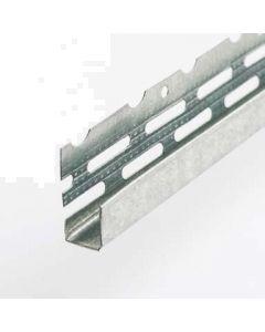 Locusrite 3.0 metre x 12.5mm Galvanised Edging Bead pack 50