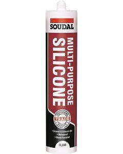 Soudal Clear Multi Purpose Silicone Sealant