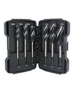 6 Piece Auger Drill Bit Set