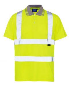 Hi Viz Polo Shirt Large