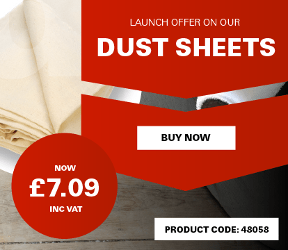 Tight Woven Dust Sheets
