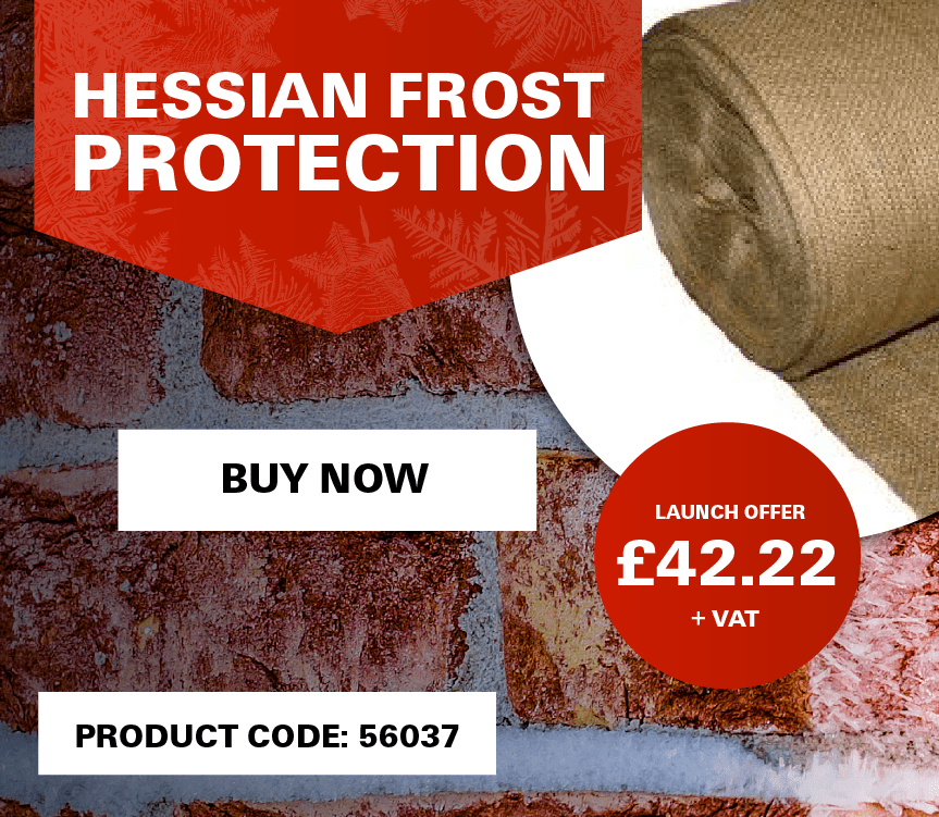 Hessian Frost Protection